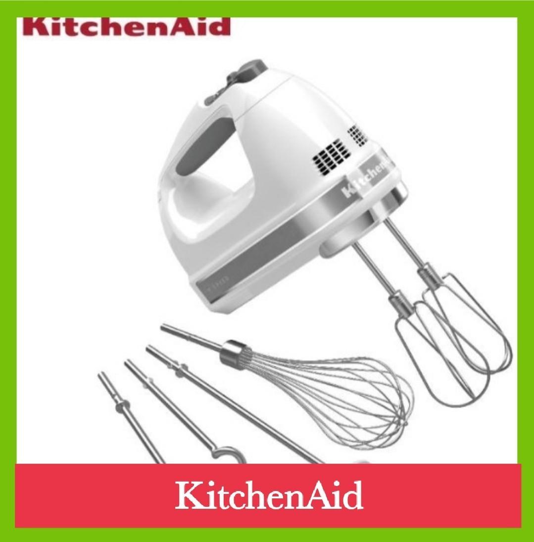 キッチンエイド(Kitchen Aid) 9段階 変速 ハンドミキサー ホワイト KHM928WH