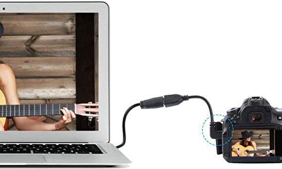 【新品・送料無料】HDMI変換ケーブル HDMIタイプAメス-HDMIタイプC(mini) オス 90°L型 金メッキコネクタ 15cm (左L)