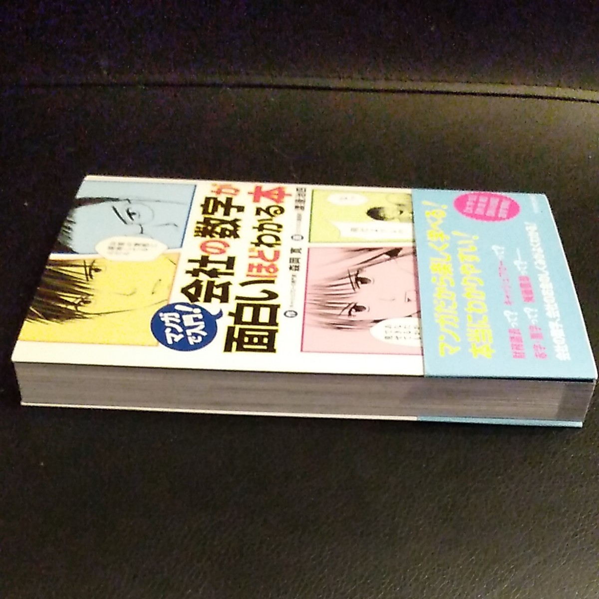 マンガで入門 会社の数字が面白いほどわかる本