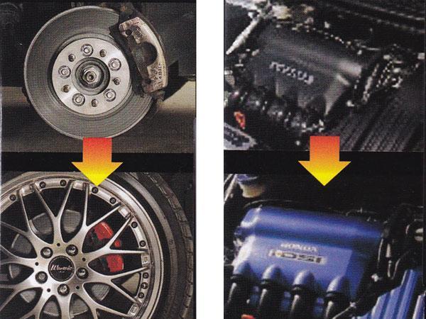 耐熱塗料 耐熱スプレー レッド ブレーキキャリパー カムカバー 塗装用 ヒートペイント ツヤあり ホルツ/Holts:MH11250_画像3