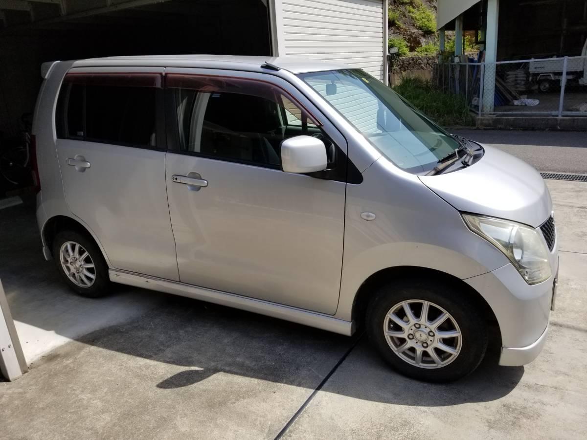 「ワゴンR 車検令和4年3月30 100354キロ 21年式 売り切り 支払いは落札金額のみ」の画像2