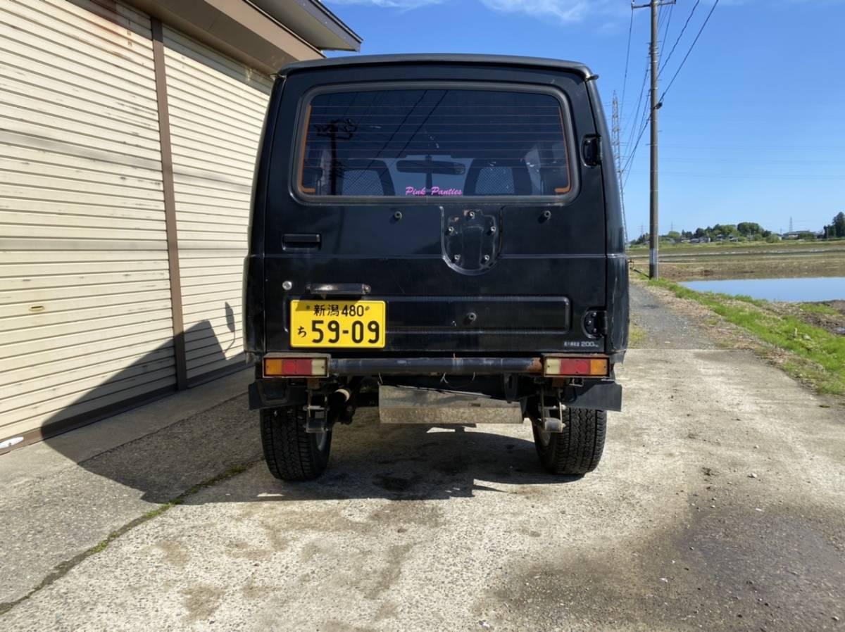 「ジムニー JA11 AT リフトアップ レカロシート 車検長い」の画像3
