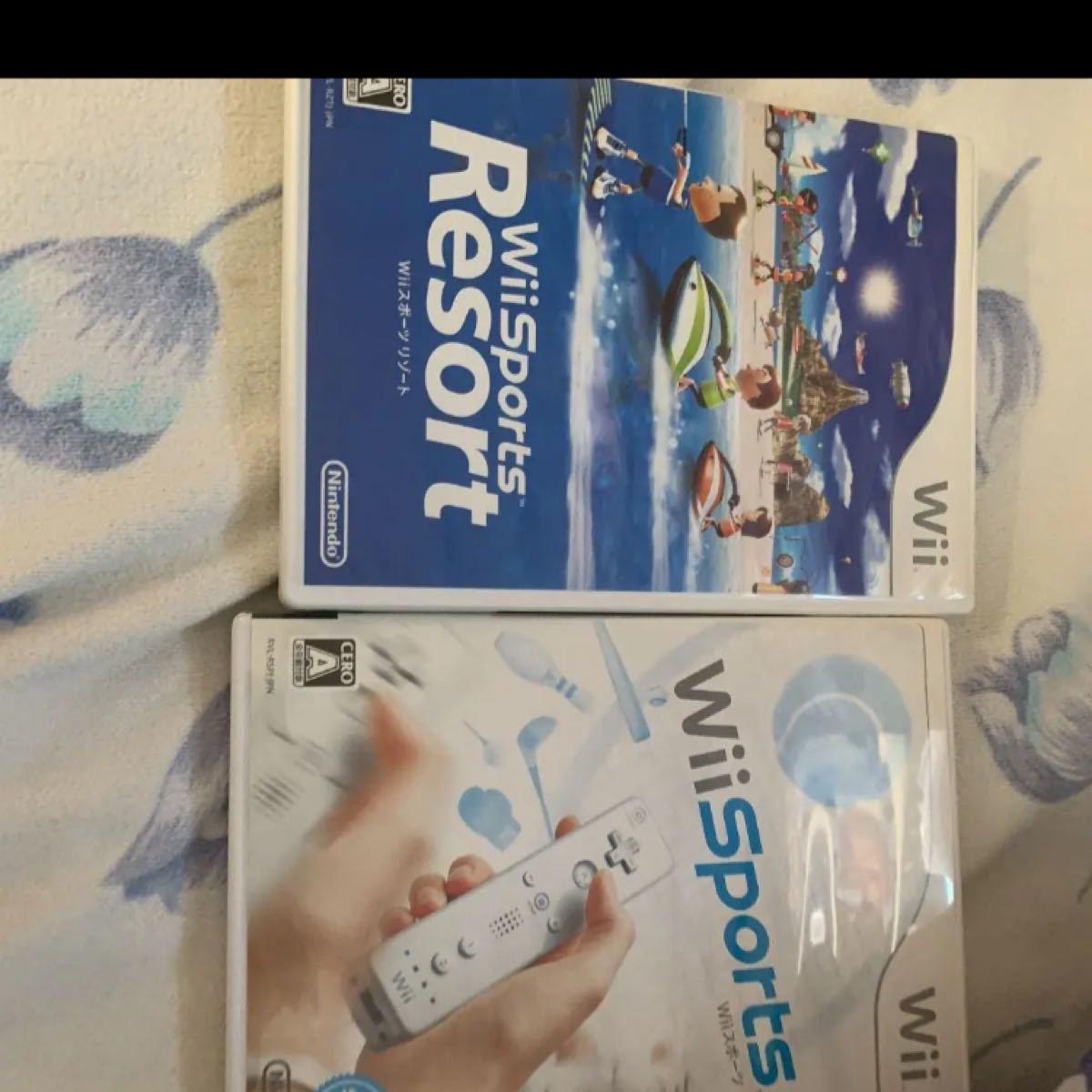 Wii スポーツ & wii sports resort 動作確認済み セット