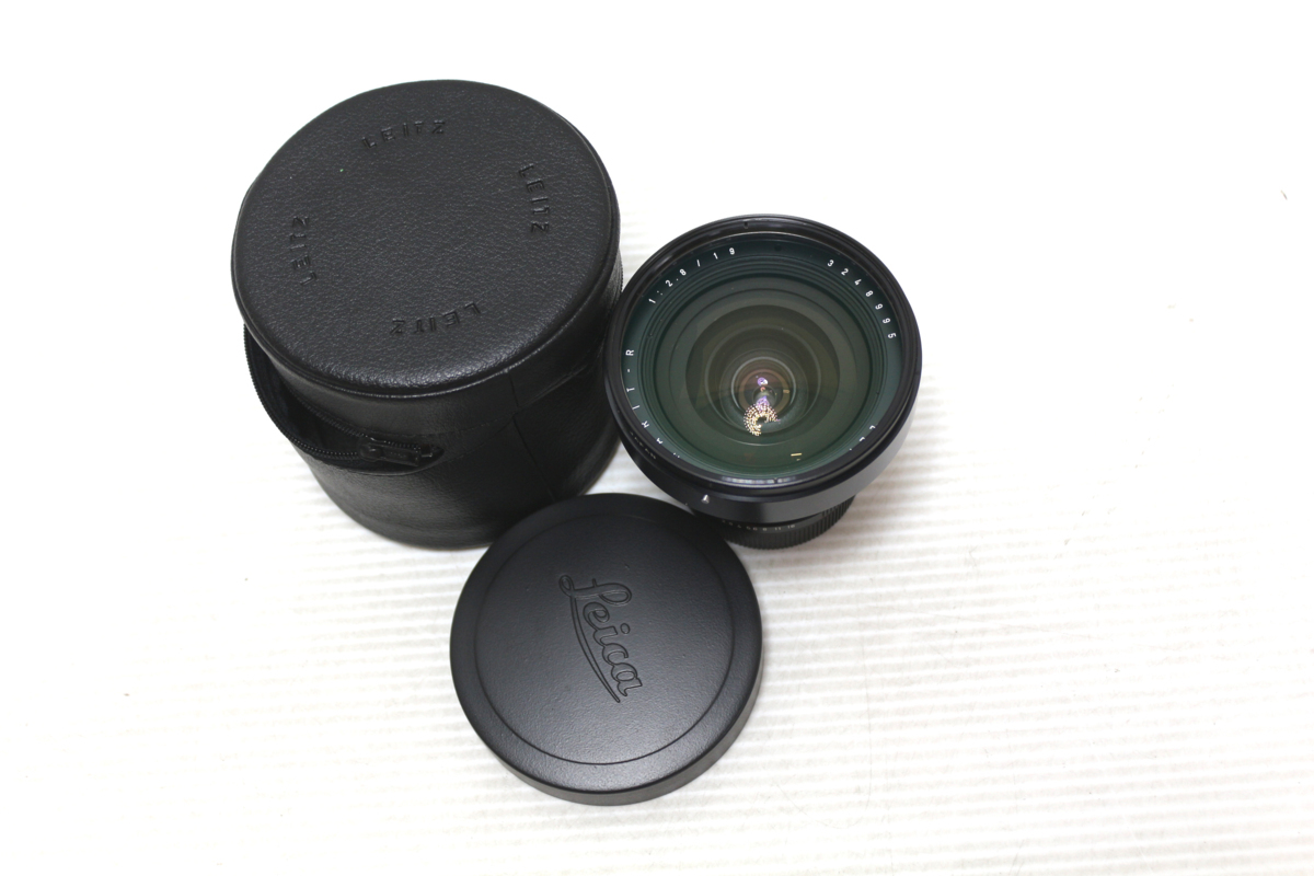 1円~【★31-1641】■中古■Leica ライカ ELMARIT-R 19mm F/2.8 レンズ