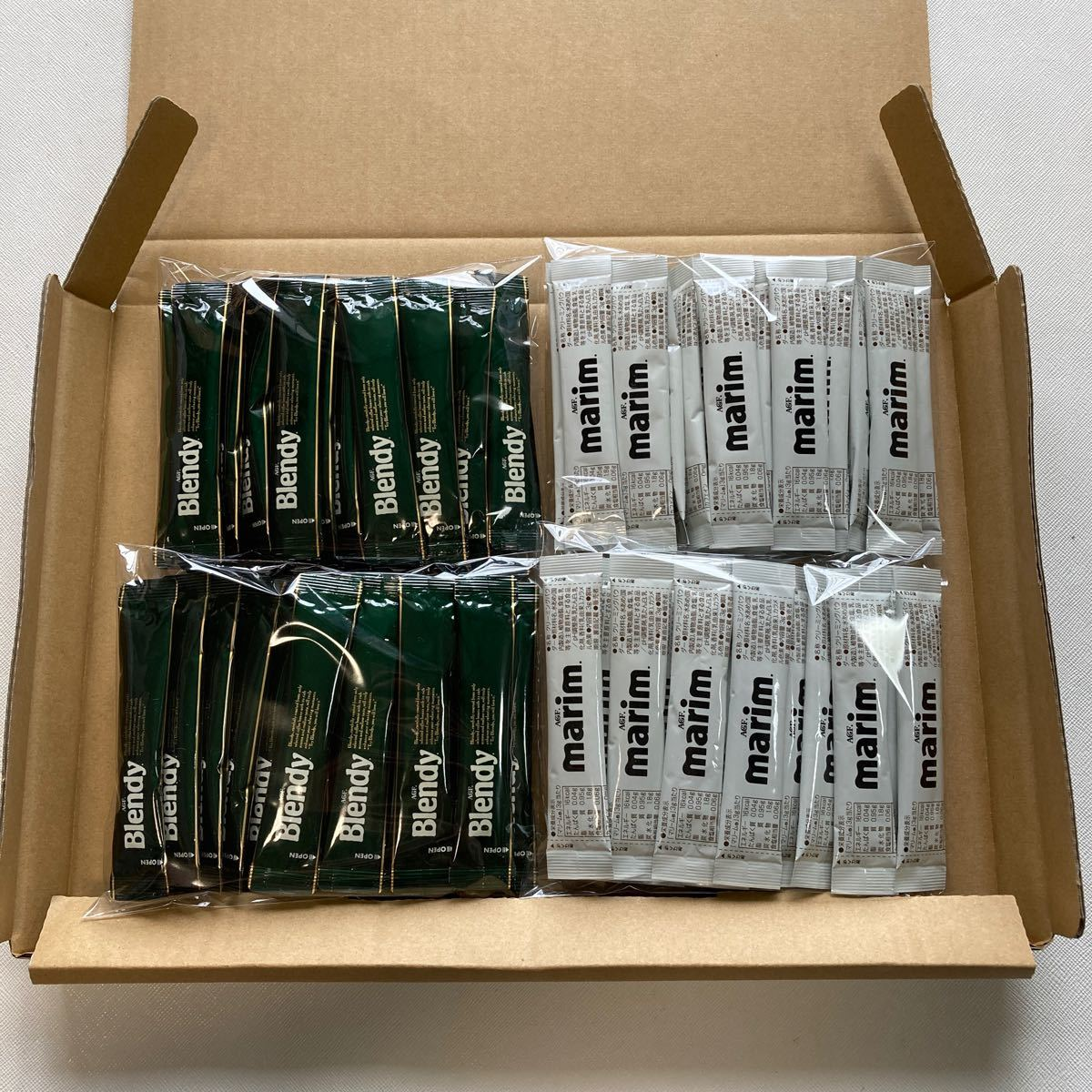 ブレンディ ブラックコーヒー スティック 40本 マリーム スティック 40本セット インスタントコーヒー