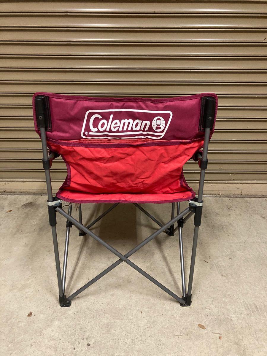 コールマン スリムチェア アウトドアチェア カップホルダー Coleman 折りたたみチェア ディレクターチェア