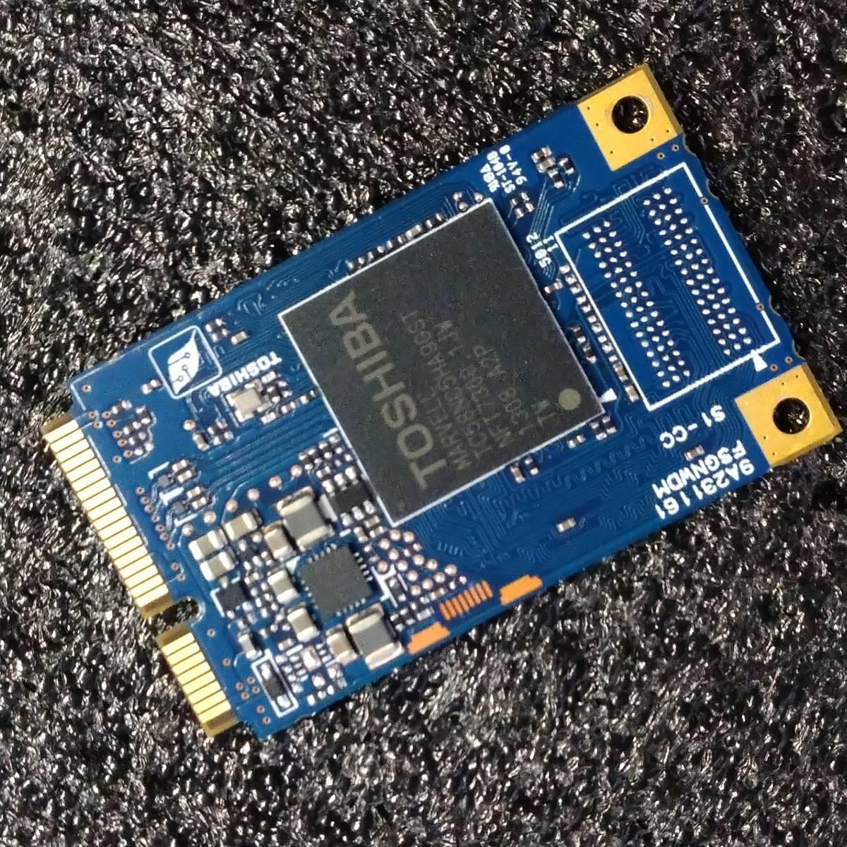 【中古】東芝 THNSNF256GMCS 256GB mSATA SSD