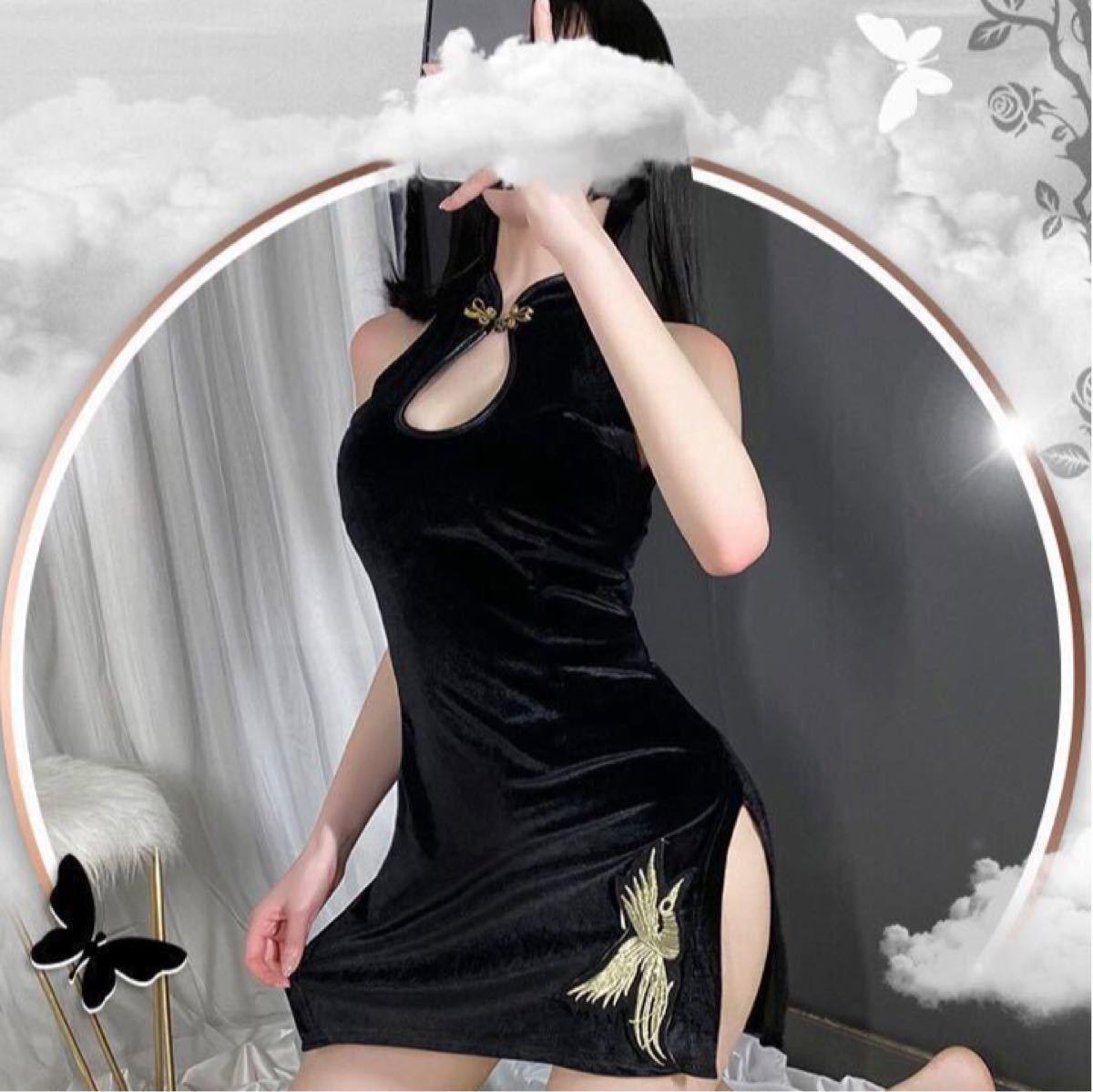 セクシーランジェリー  キャバ嬢 ミニワンピース ドレスコスプレ