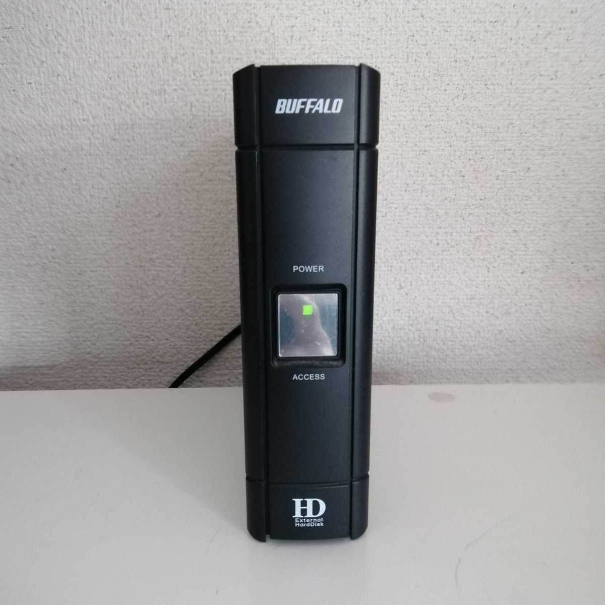 【訳あり】BUFFALO HD-HESU2 外付けハードディスク USB2.0 _画像3