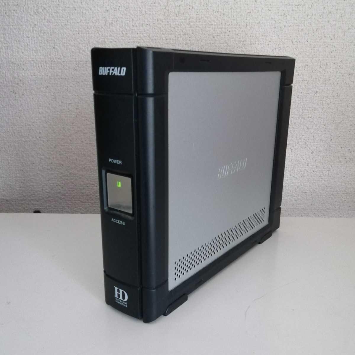 【訳あり】BUFFALO HD-HESU2 外付けハードディスク USB2.0 _画像2