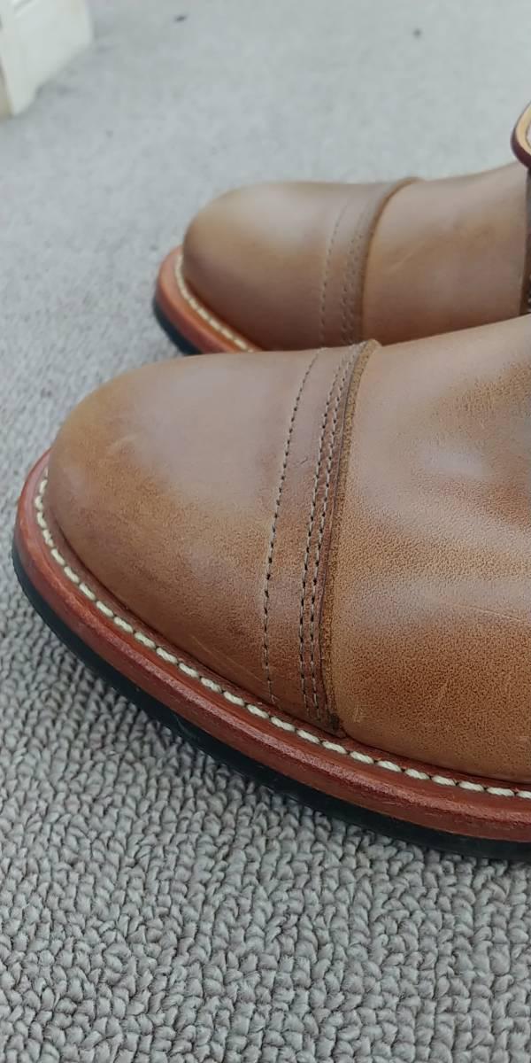 OAKSTREET BOOTMAKERS Dainite Trench Boot オークストリート ブーツメーカー トレンチブーツ size us9.5 27.5cm デウスエクスマキナコラボ_画像10