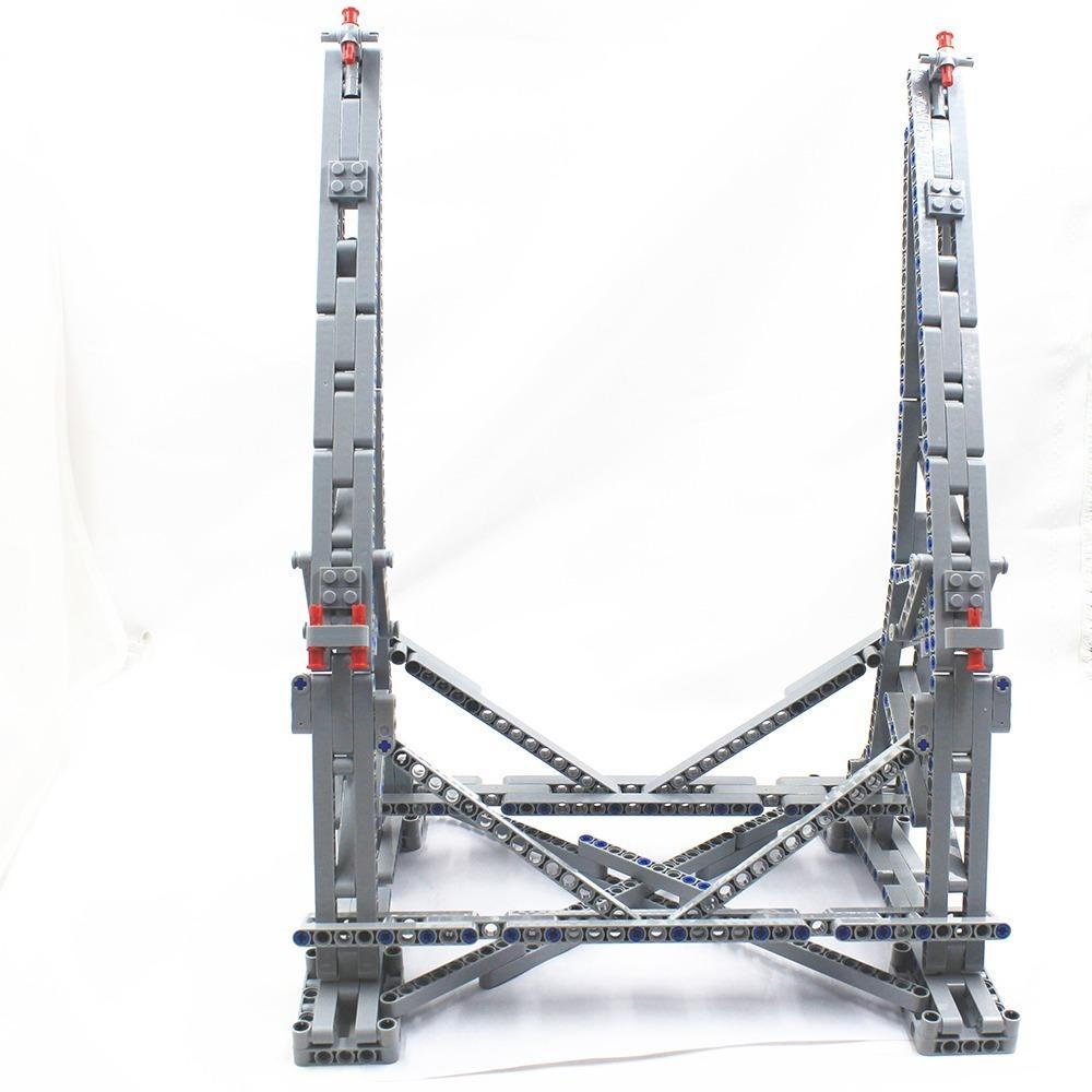 LEGO レゴ 互換 スター・ウォーズ ミレニアム・ファルコン 75212 75192 3D ディスプレイ スタンド 407pcs_画像2