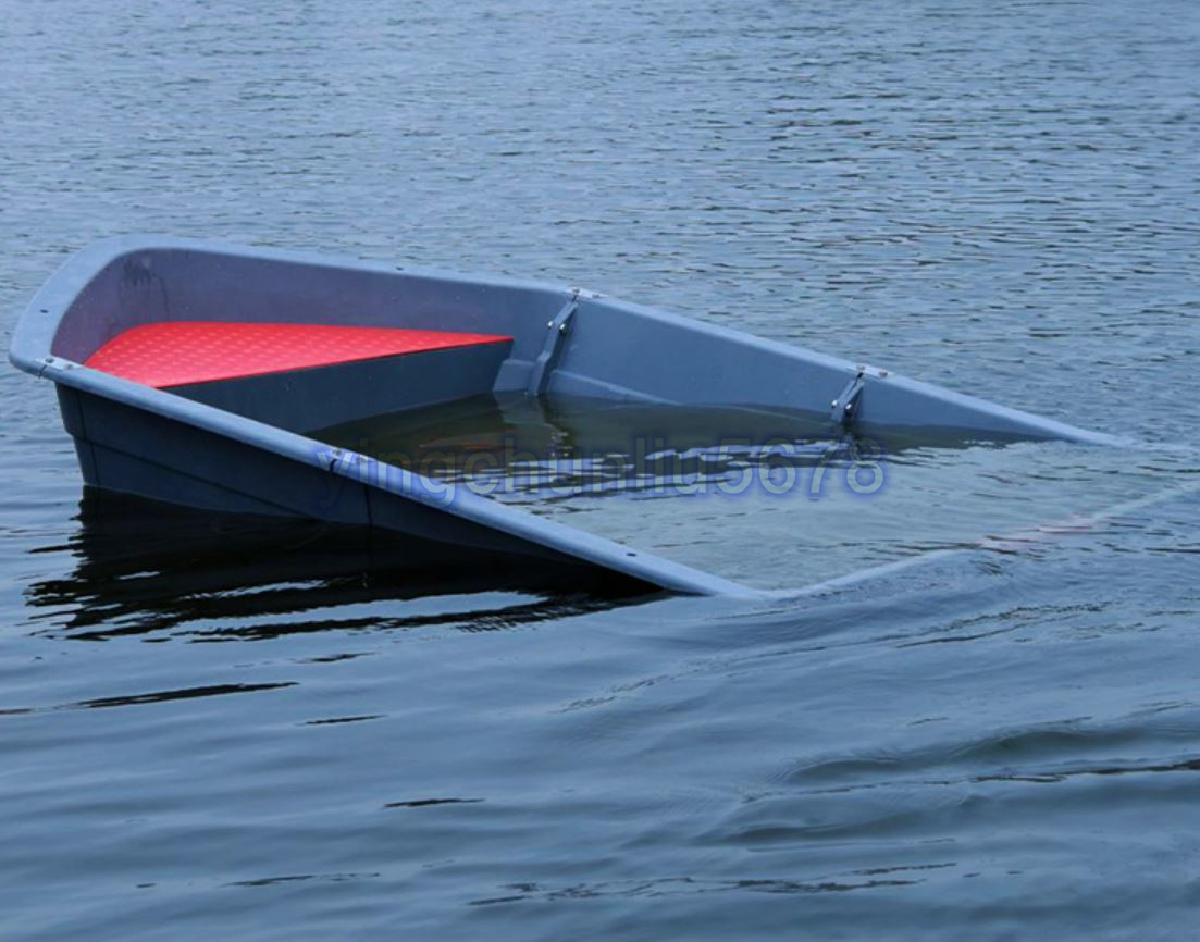 「人気推薦★品質保証★3分割ボート 2.3メートル フィッシングボート 船外機可 車載 釣り 未使用 ゴムボート」の画像3
