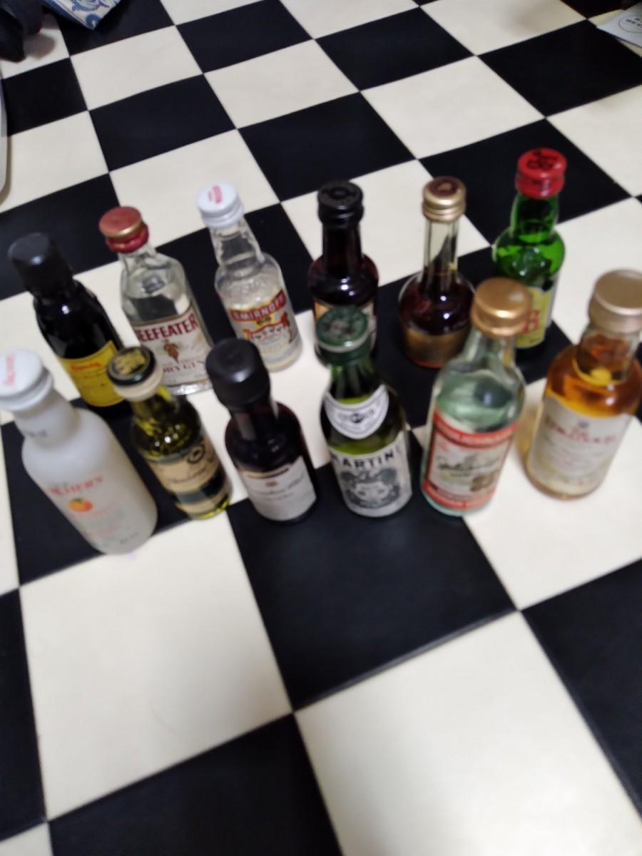 酒 ミニボトル 古酒 ミニチュアボトル