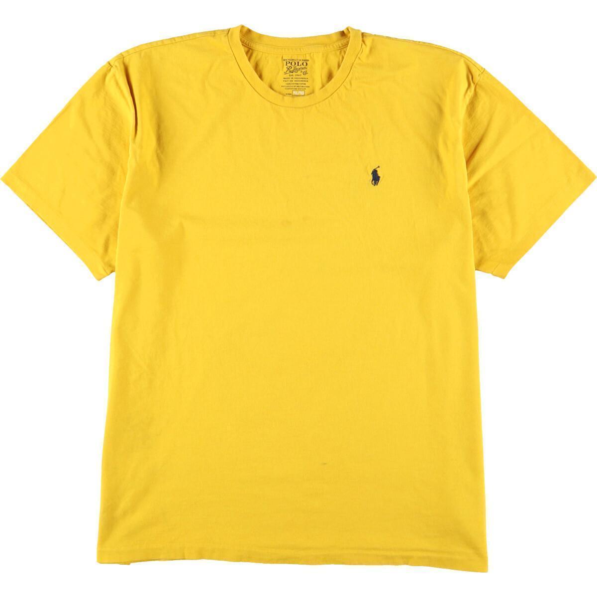 ラルフローレン Ralph Lauren POLO RALPH LAUREN 半袖 ワンポイントロゴTシャツ メンズXL /eaa159740_画像1