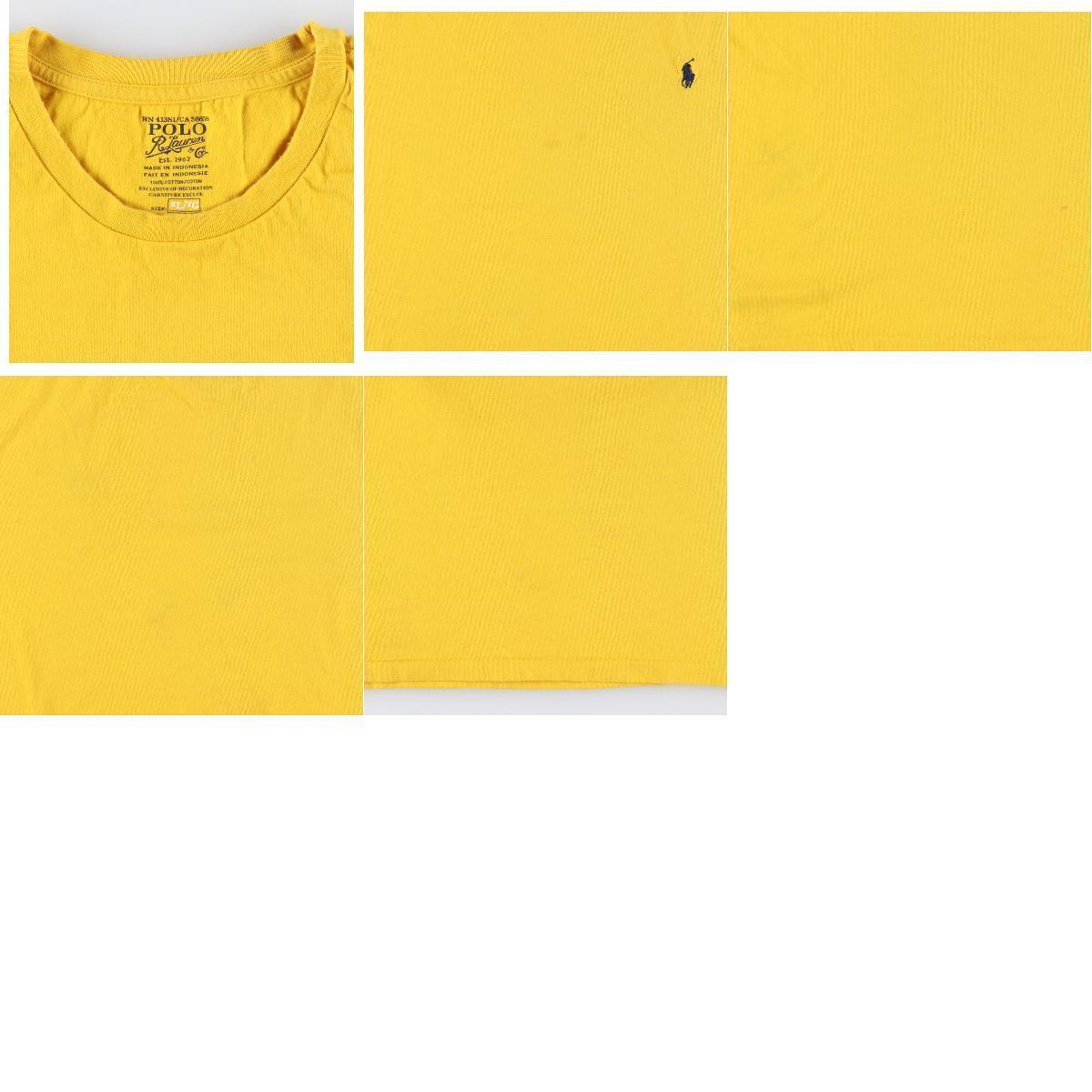 ラルフローレン Ralph Lauren POLO RALPH LAUREN 半袖 ワンポイントロゴTシャツ メンズXL /eaa159740_画像3