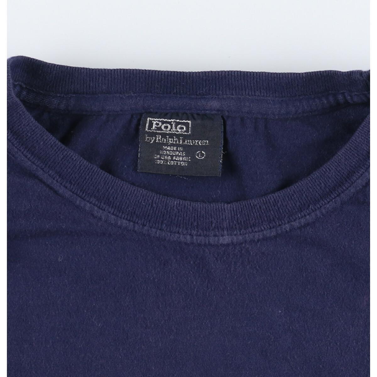 ラルフローレン Ralph Lauren POLO by Ralph Lauren 半袖 ワンポイントロゴTシャツ メンズXL /eaa159742_画像3