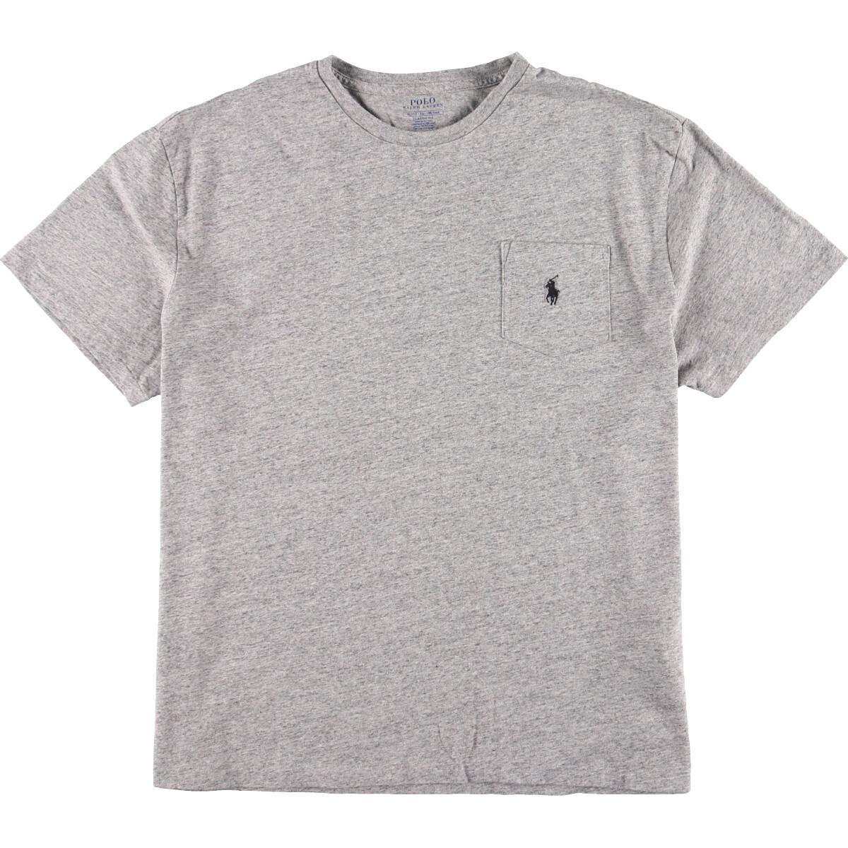 ラルフローレン Ralph Lauren POLO RALPH LAUREN 半袖 ワンポイントロゴポケットTシャツ メンズXL /eaa160158_画像1