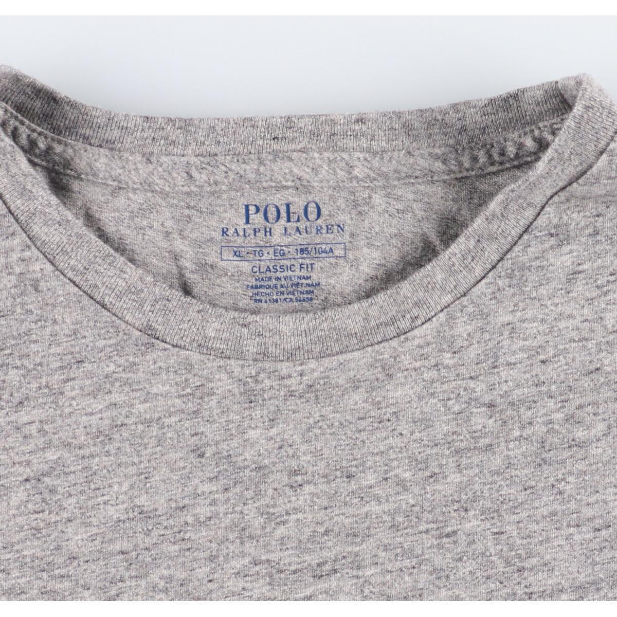 ラルフローレン Ralph Lauren POLO RALPH LAUREN 半袖 ワンポイントロゴポケットTシャツ メンズXL /eaa160158_画像3