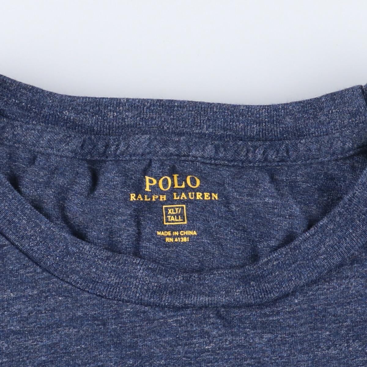 ラルフローレン Ralph Lauren POLO RALPH LAUREN 半袖 ワンポイントロゴポケットTシャツ メンズ4XL /eaa164848_画像3