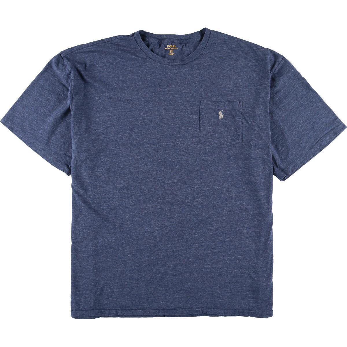 ラルフローレン Ralph Lauren POLO RALPH LAUREN 半袖 ワンポイントロゴポケットTシャツ メンズ4XL /eaa164848_画像1