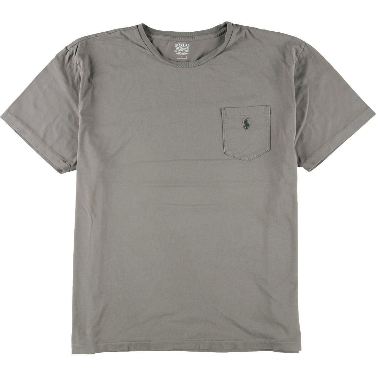 ラルフローレン Ralph Lauren POLO RALPH LAUREN 半袖 ワンポイントロゴポケットTシャツ メンズXL /eaa161576_画像1