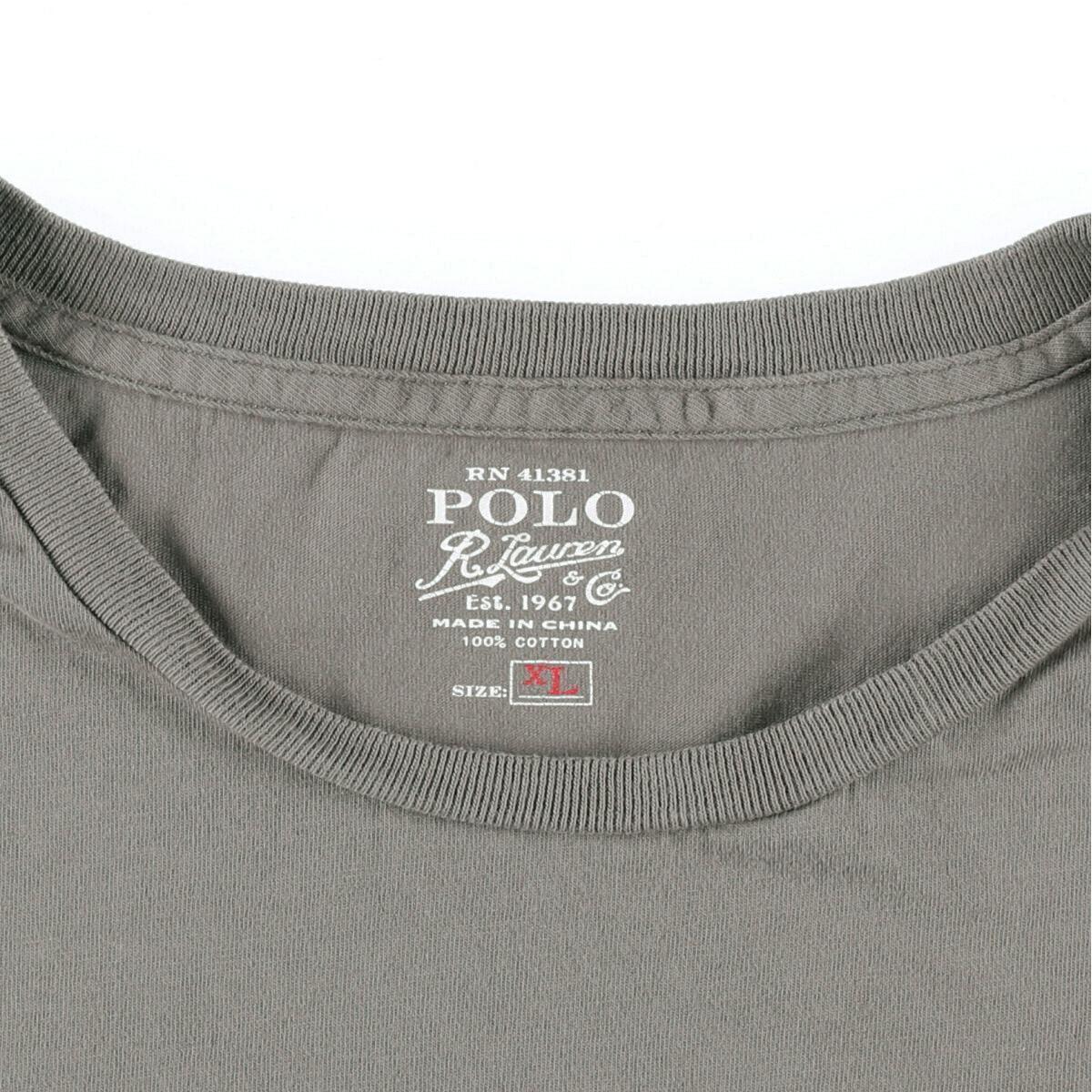 ラルフローレン Ralph Lauren POLO RALPH LAUREN 半袖 ワンポイントロゴポケットTシャツ メンズXL /eaa161576_画像3