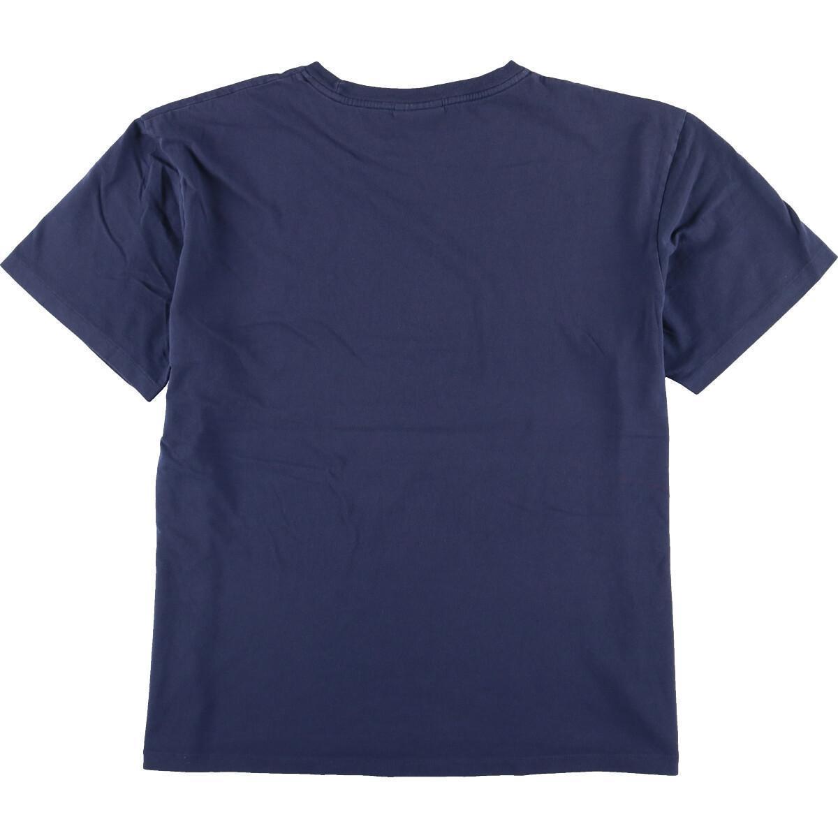 ラルフローレン Ralph Lauren POLO by Ralph Lauren 半袖 ワンポイントロゴTシャツ メンズL /eaa167039_画像2
