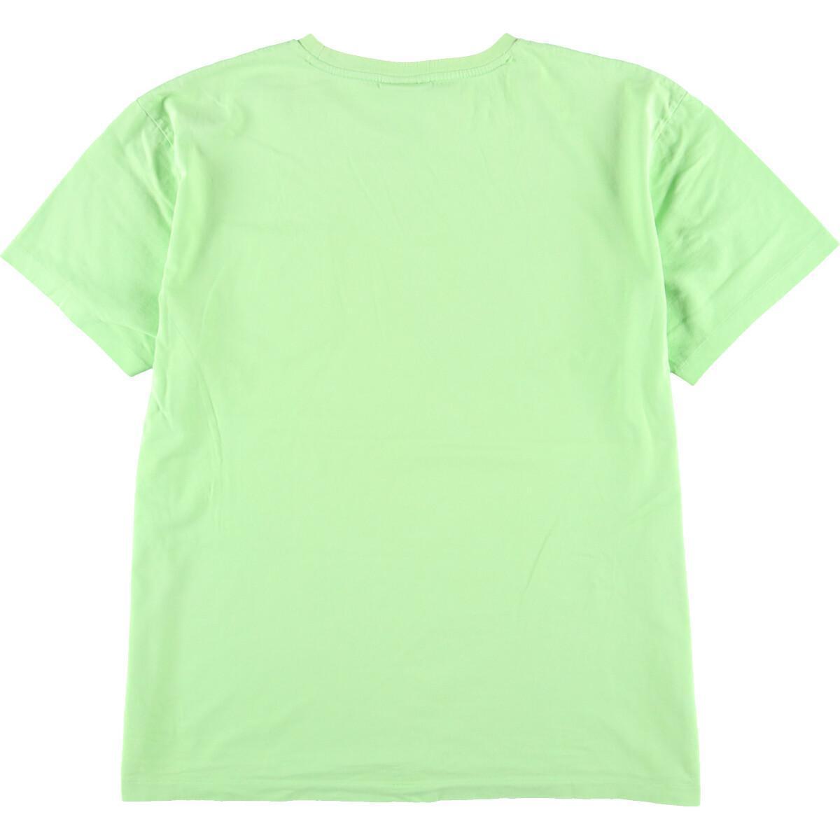 ラルフローレン Ralph Lauren POLO by Ralph Lauren 半袖 ワンポイントロゴポケットTシャツ メンズL /eaa167036_画像2