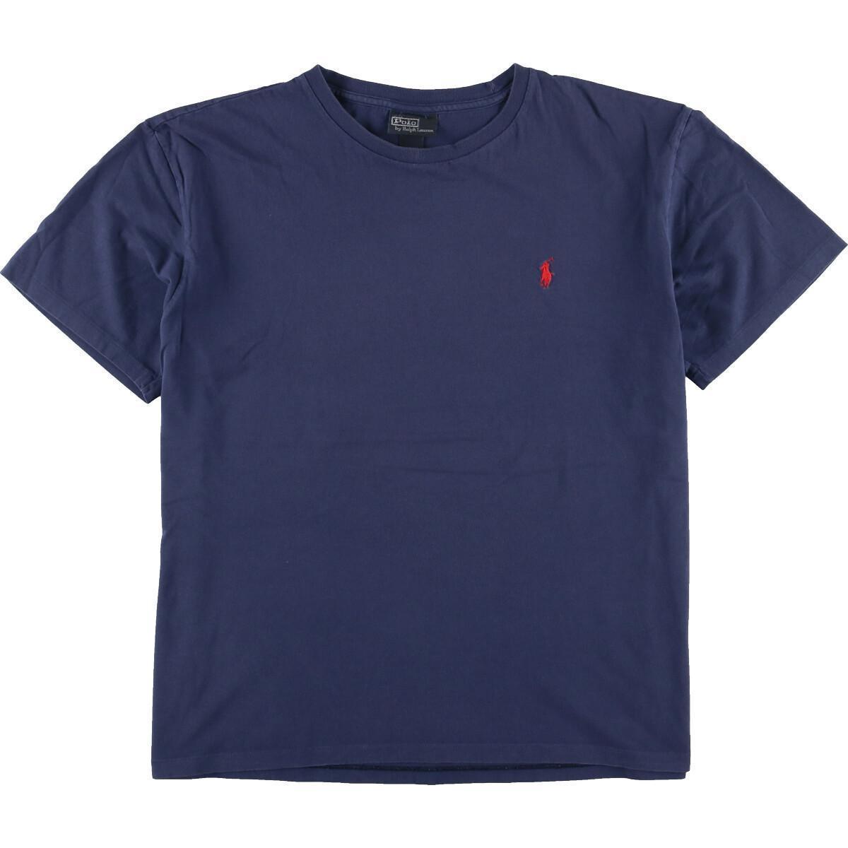 ラルフローレン Ralph Lauren POLO by Ralph Lauren 半袖 ワンポイントロゴTシャツ メンズL /eaa167039_画像1