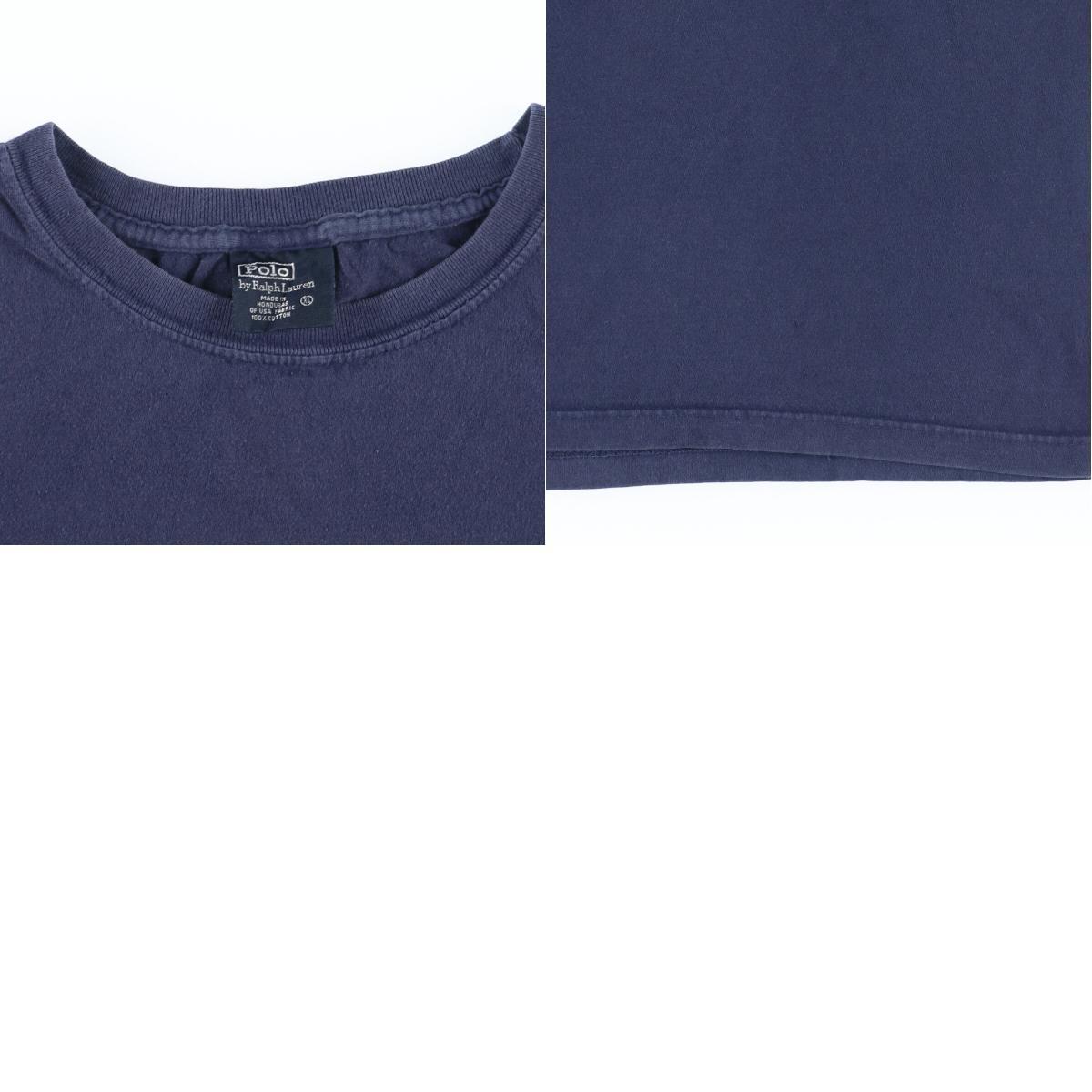 ラルフローレン Ralph Lauren POLO by Ralph Lauren 半袖 ワンポイントロゴTシャツ メンズXL /eaa167014_画像3