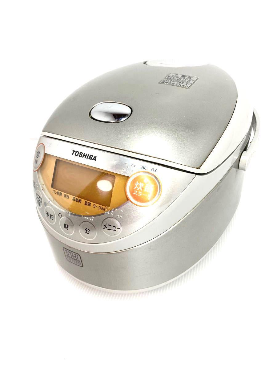 3合炊き炊飯器★TOSHIBA RC-6RX(SS)