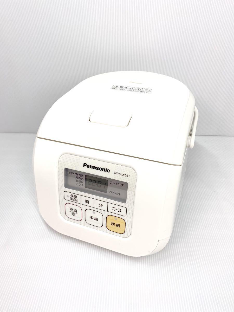 3合炊き炊飯器★Panasonic SR-ML051-W