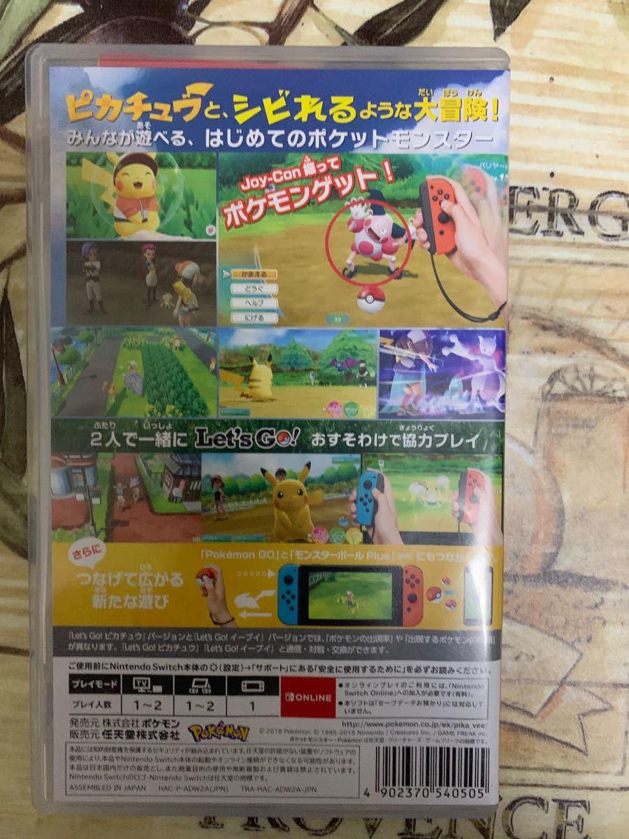 ポケットモンスター Let''s Go ピカチュウ レッツゴーピカチュウ Nintendo Switch