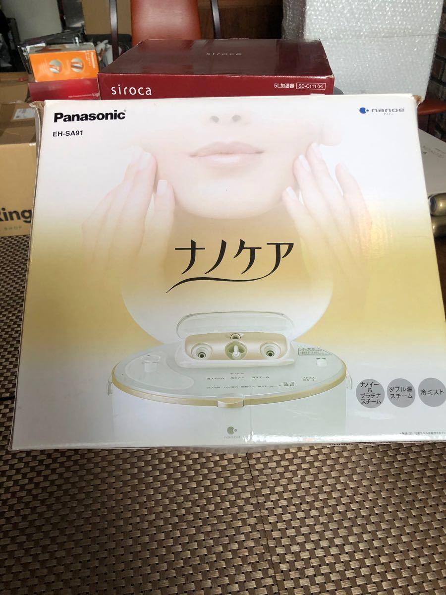 Panasonic パナソニック スチーマーナノケア EH-SA91