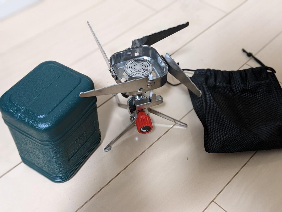 【新品未使用】シングルバーナー キャンプ アウトドア 防災 ガスバーナー
