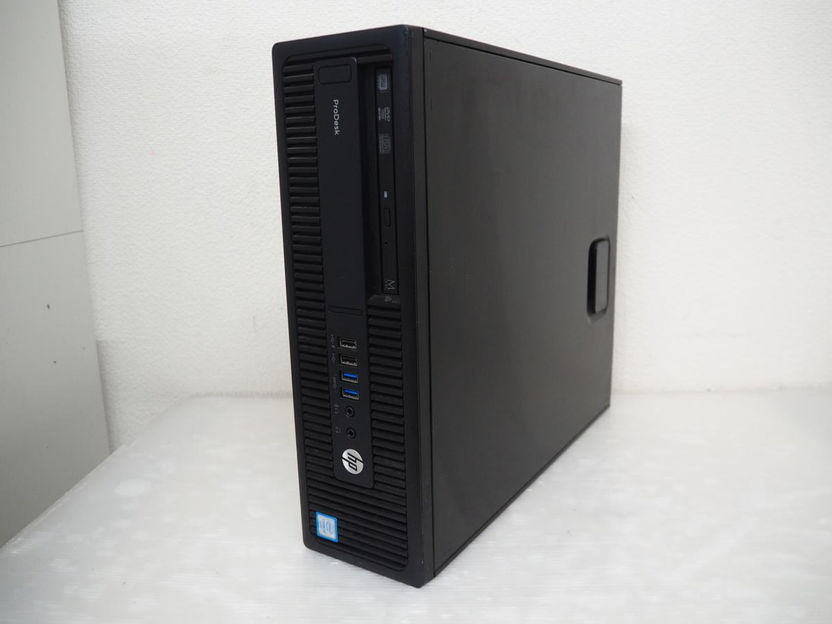 【ハード王】HP ProDesk 600G2SFF/Corei5-6500/8GB/HDD無/バイオスOK/10786-D3