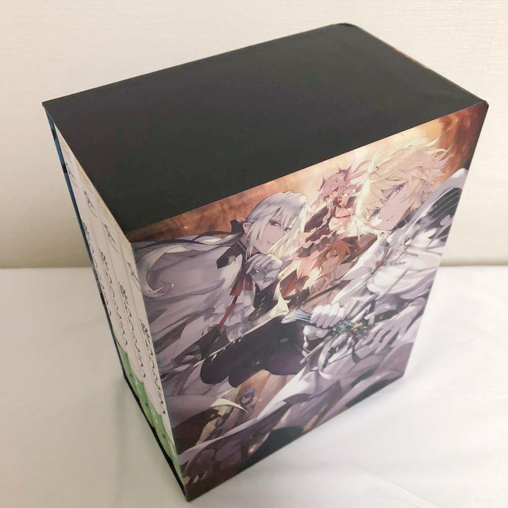 終わりのセラフ Blu-ray 全4巻セット 全巻 収納BOX 1期 初回限定版 シーズン1 ブルーレイ