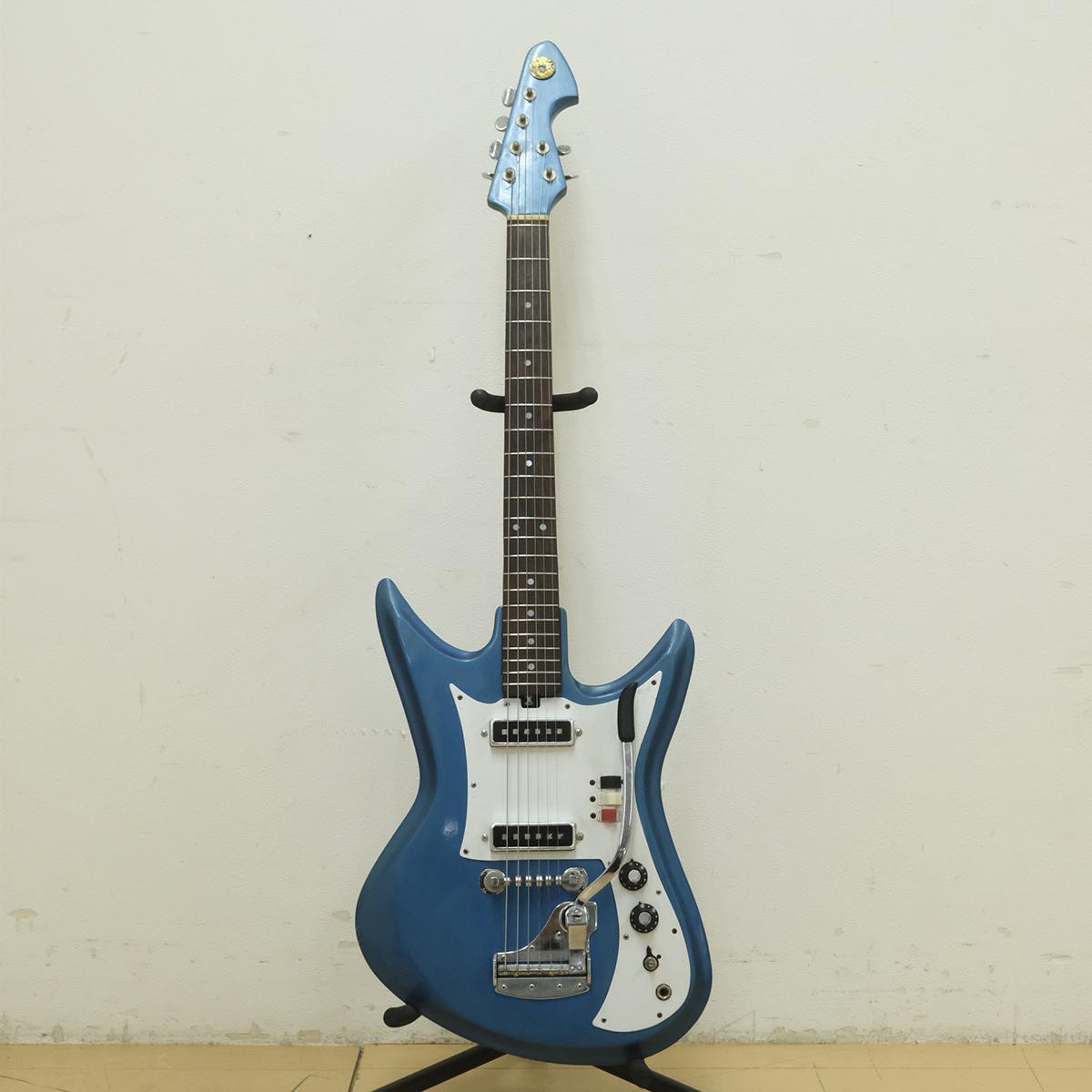 Teisco テスコ エレキギター モデル K-2L ビサールギター 音出し確認済み ジャパンビンテージ