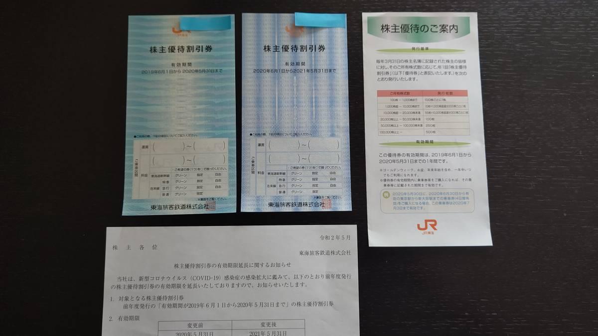 JR東海株主優待割引券2枚セット 送料込み
