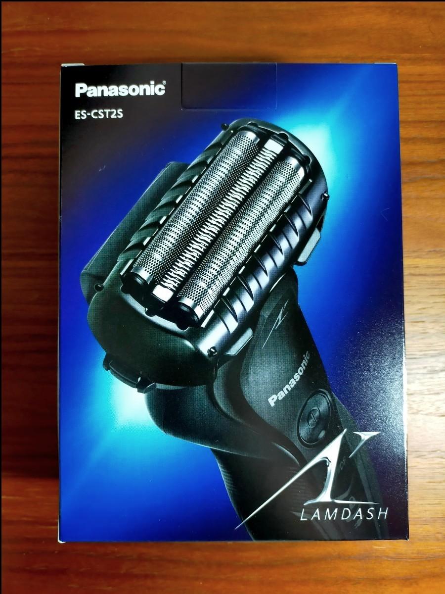 Panasonic パナソニック ラムダッシュ メンズシェーバー ブラック ES-CST2S-K