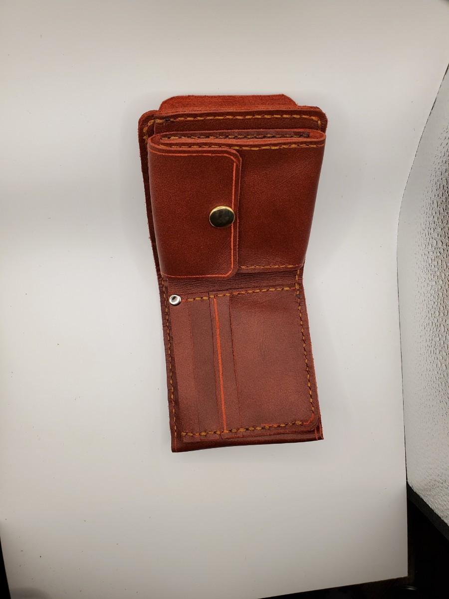 レザークラフト 財布