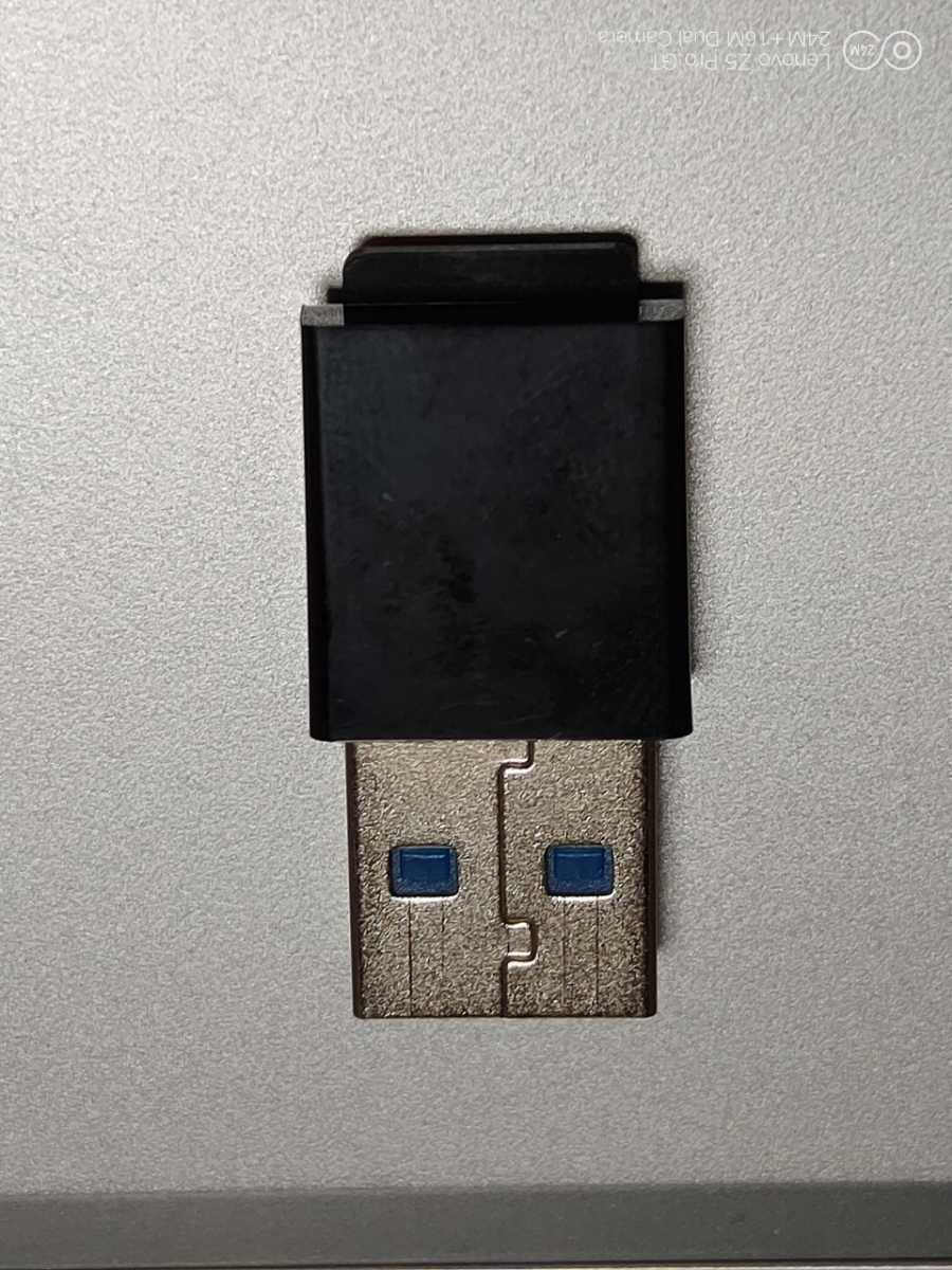 MicroSD カードリーダー USB3.0 / USB2.0 小型 高速モデル TYPE-C OTGアダプター付き (Microsdは付属しません)