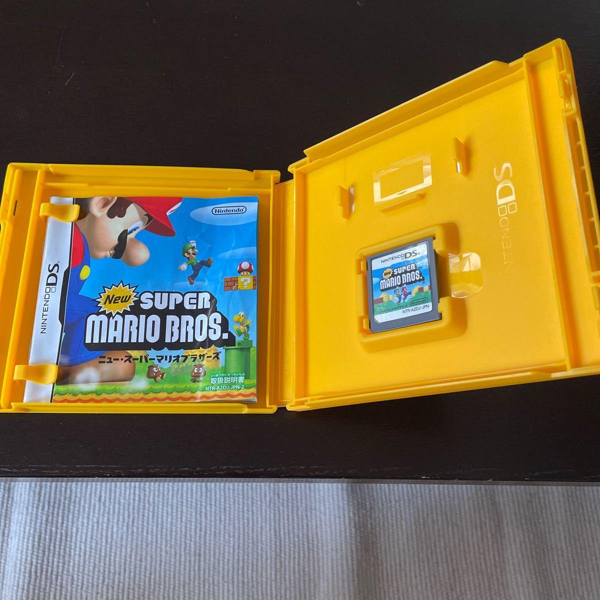 Newスーパーマリオブラザーズ DSソフト