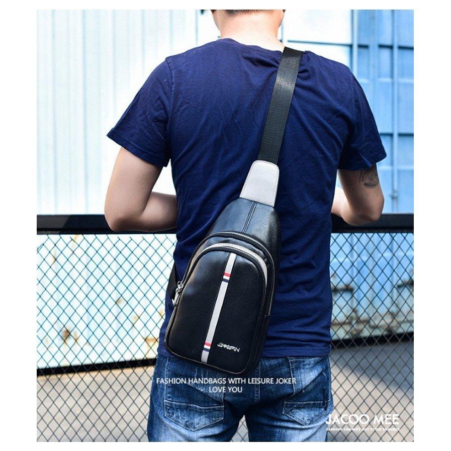 ボディバッグ メンズ バッグ ショルダーバッグ レザー 革バッグ ボディバッグ メンズ バッグ ショルダーバッグ PUレザー 革バッグ カジュア