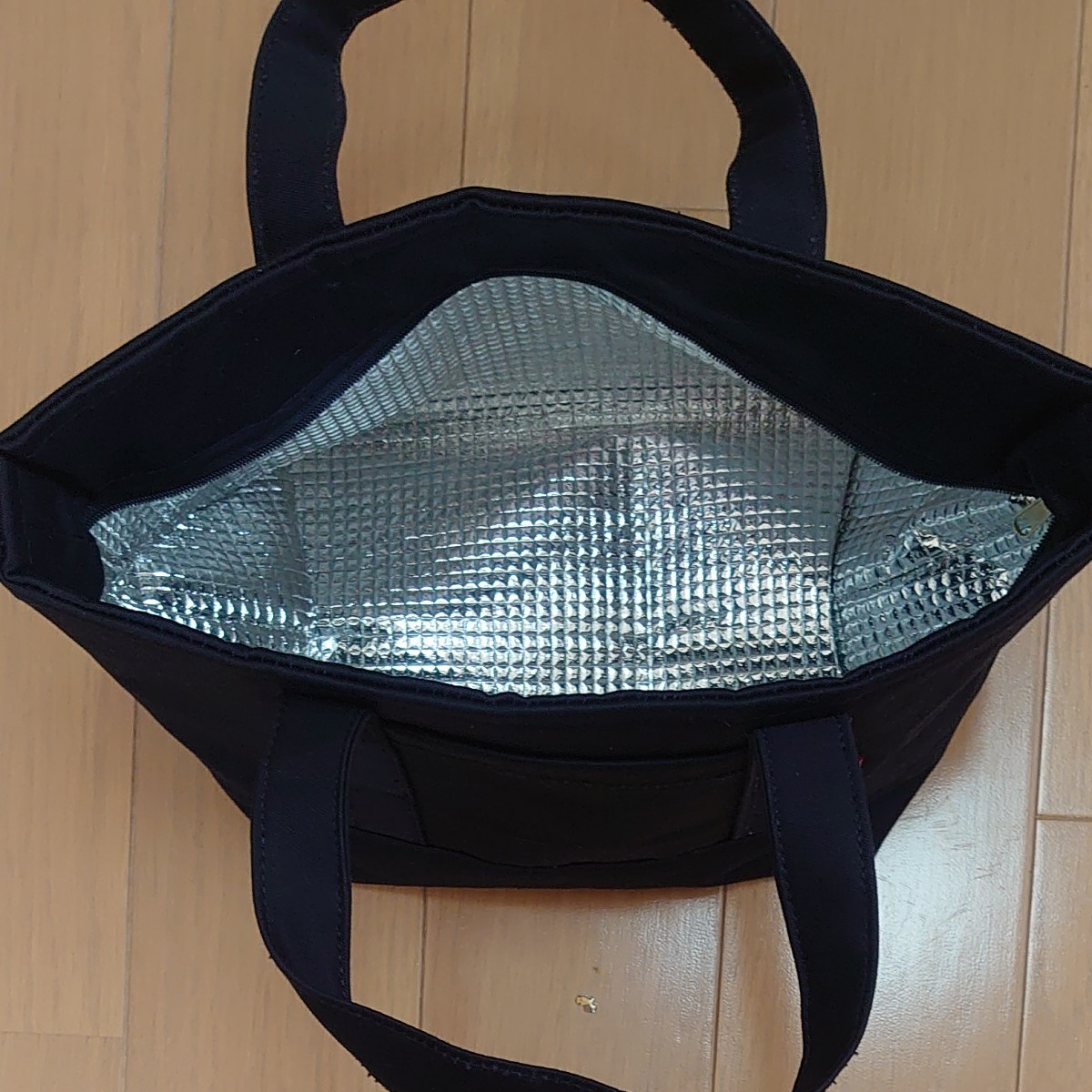 (ハンドメイド)帆布保冷トートバッグ