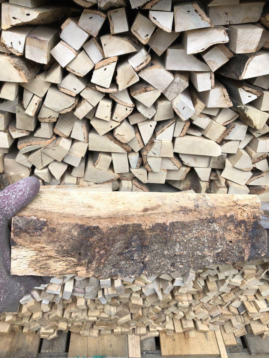 薪ストーブや焚き火に最適 短め樫薪20kg