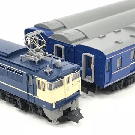 KATO 10-015 EF65-1000 ブルートレイン 4両セット Nゲージ 鉄道模型 中古 N5636960