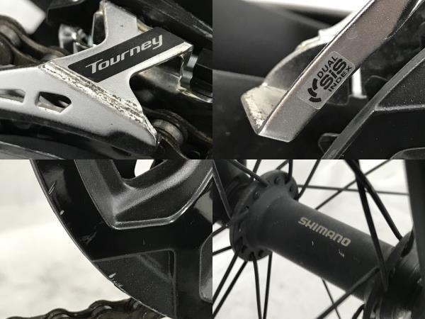 Bianchi C SPORT 1 2020年 ビアンキ シースポーツ マットブラック クロスバイク 中古 N5623041_画像10
