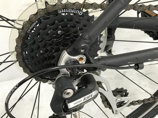 Bianchi C SPORT 1 2020年 ビアンキ シースポーツ マットブラック クロスバイク 中古 N5623041_画像4